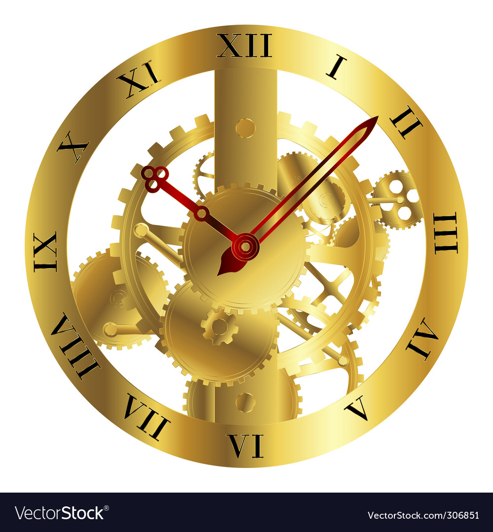 Clockwork design vector | Price: 3 Credit (USD $3)