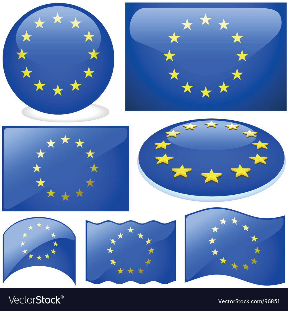Europe union vector | Price: 1 Credit (USD $1)