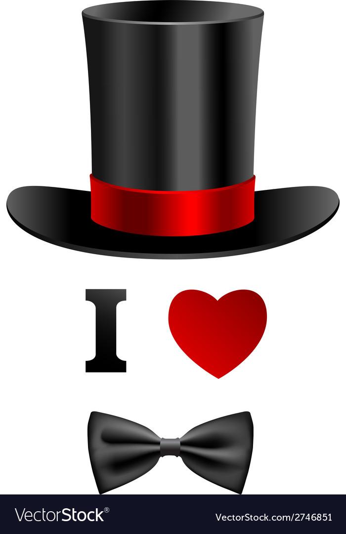 I love gentleman card vector   Price: 1 Credit (USD $1)