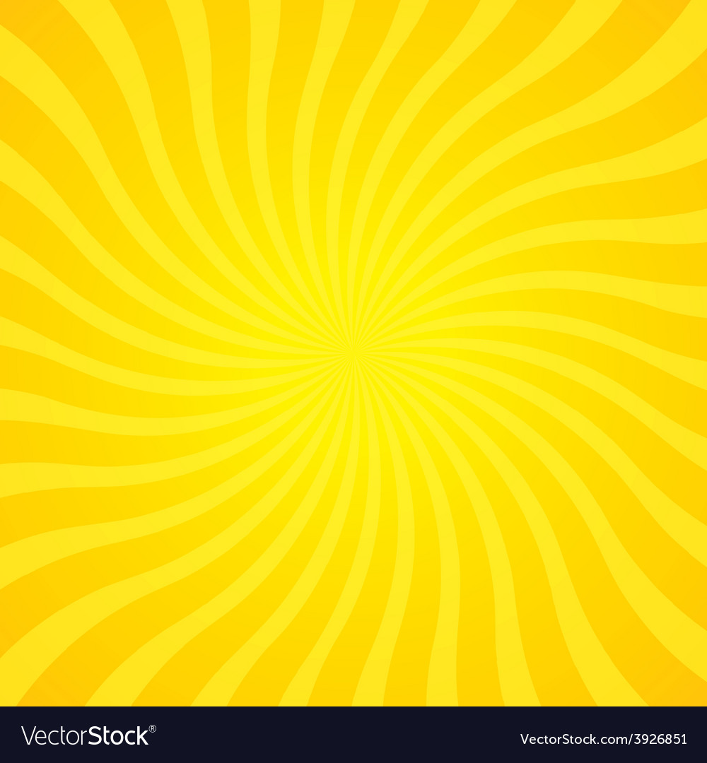 Popular gold color twist rotate ray background vector | Price: 1 Credit (USD $1)