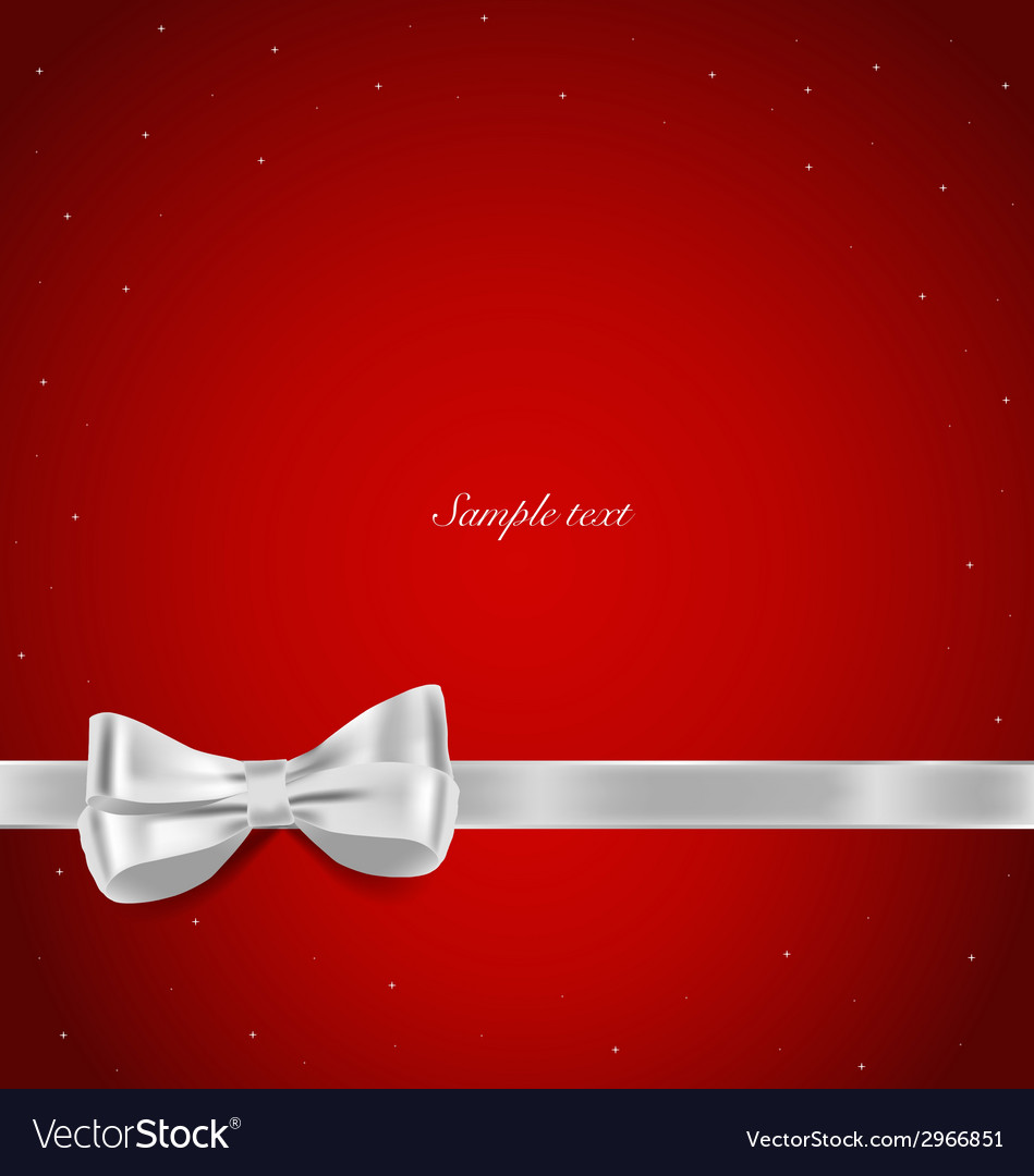 Shiny ribbon on red background with copy space vector | Price: 1 Credit (USD $1)