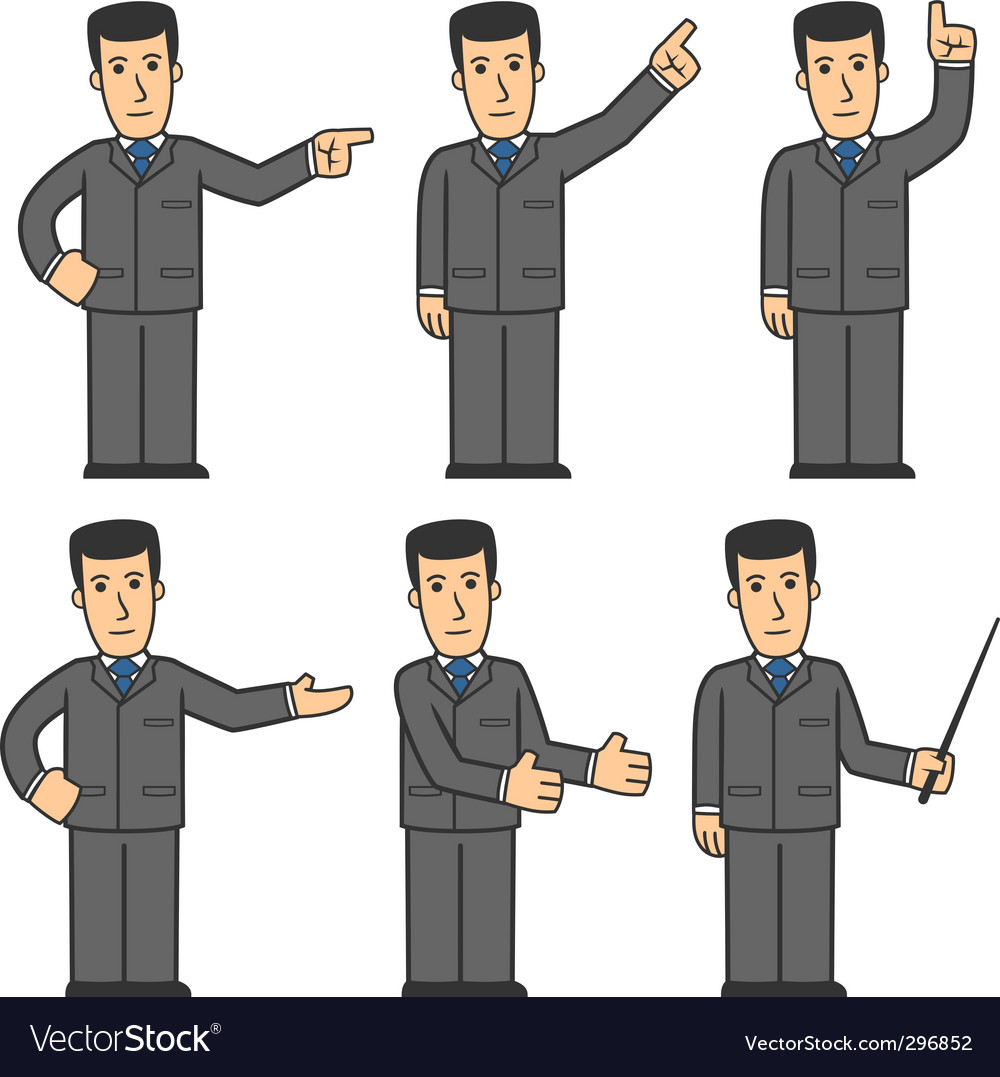 Businessman character vector   Price: 3 Credit (USD $3)