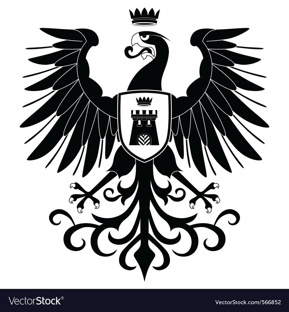 Heraldic eagle vector   Price: 1 Credit (USD $1)