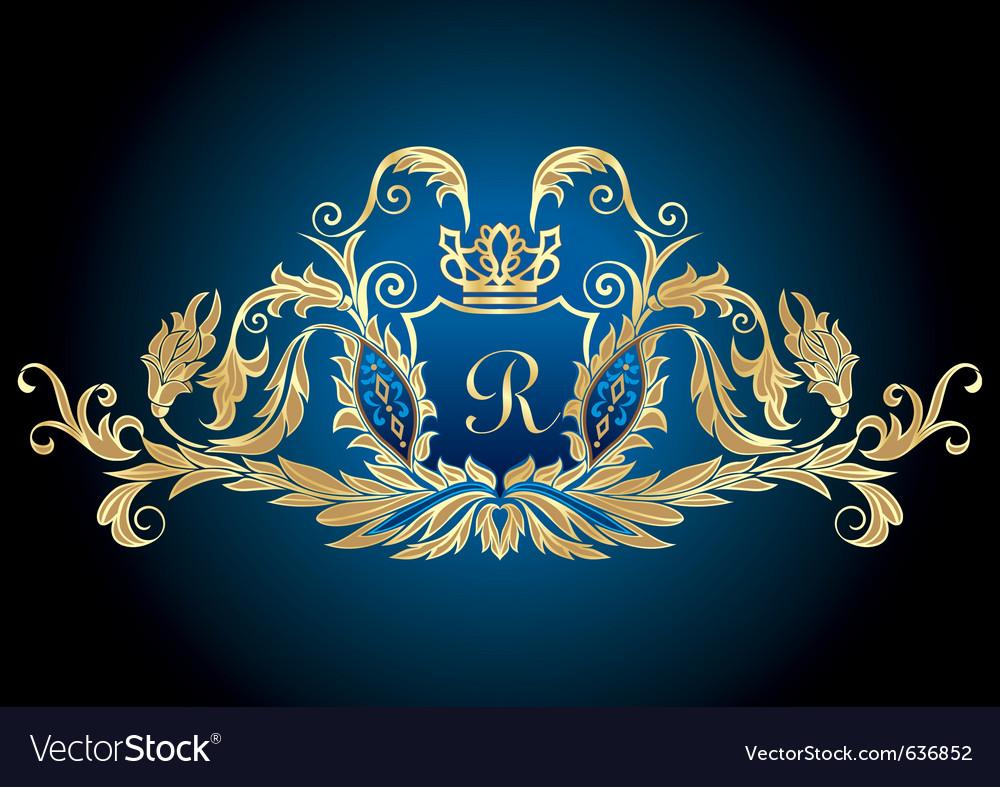 Heraldry crest vector | Price: 1 Credit (USD $1)