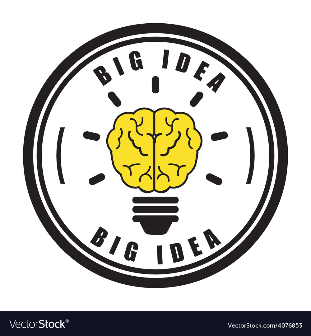 Big idea vector | Price: 1 Credit (USD $1)