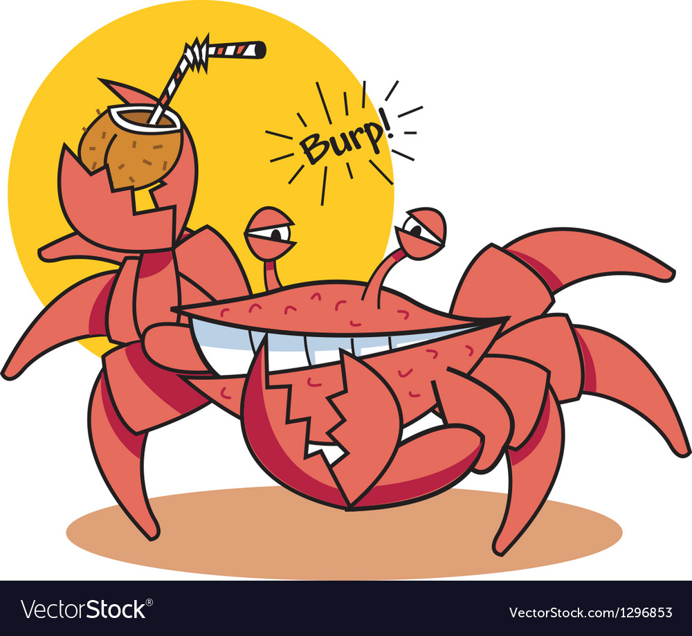 Crab vector | Price: 1 Credit (USD $1)