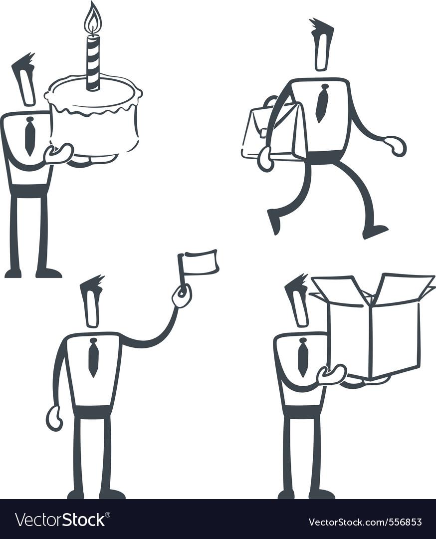 Sketch man vector | Price: 1 Credit (USD $1)