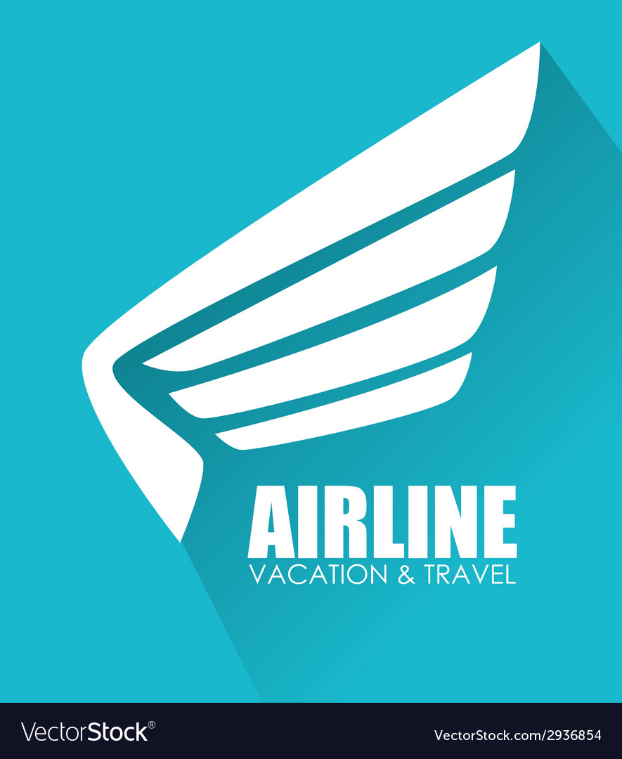 Airline design vector | Price: 1 Credit (USD $1)