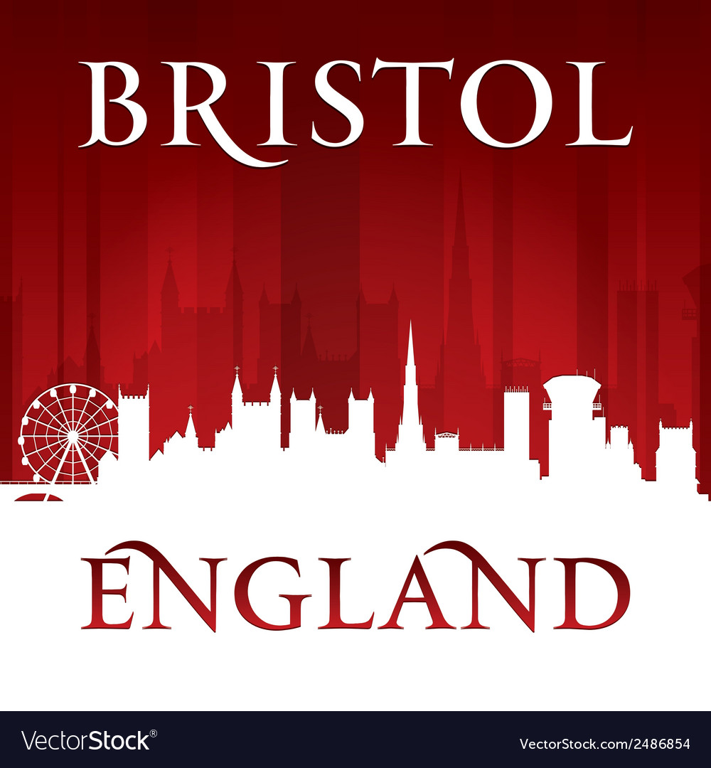 Bristol england city skyline silhouette vector | Price: 1 Credit (USD $1)