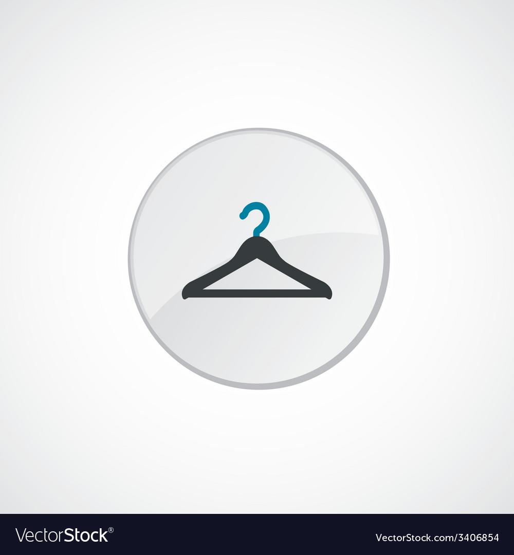Hanger icon 2 colored vector | Price: 1 Credit (USD $1)