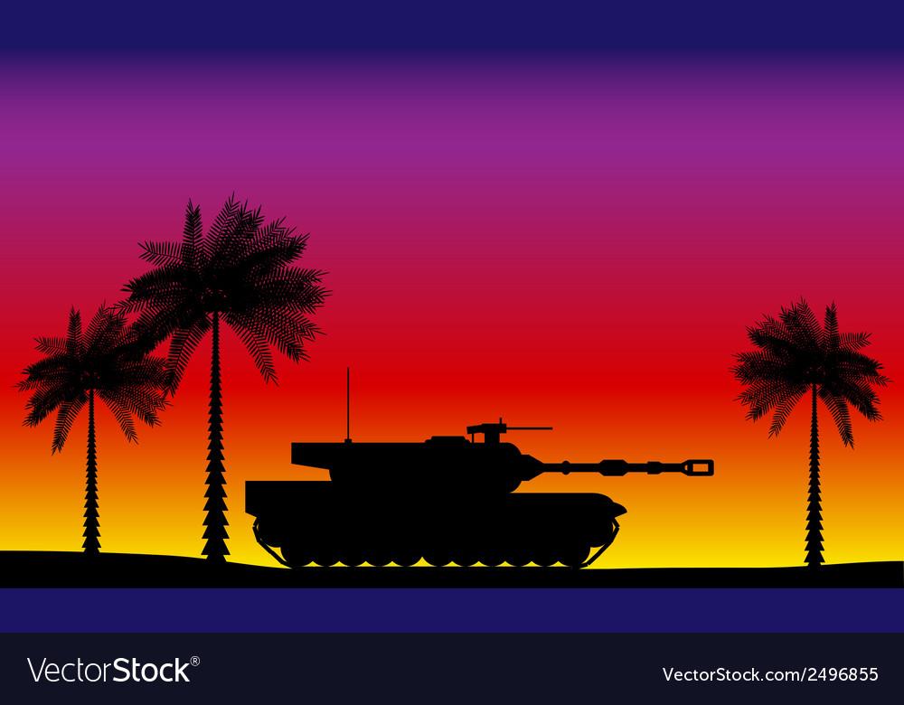 Modern heavy tank vector | Price: 1 Credit (USD $1)