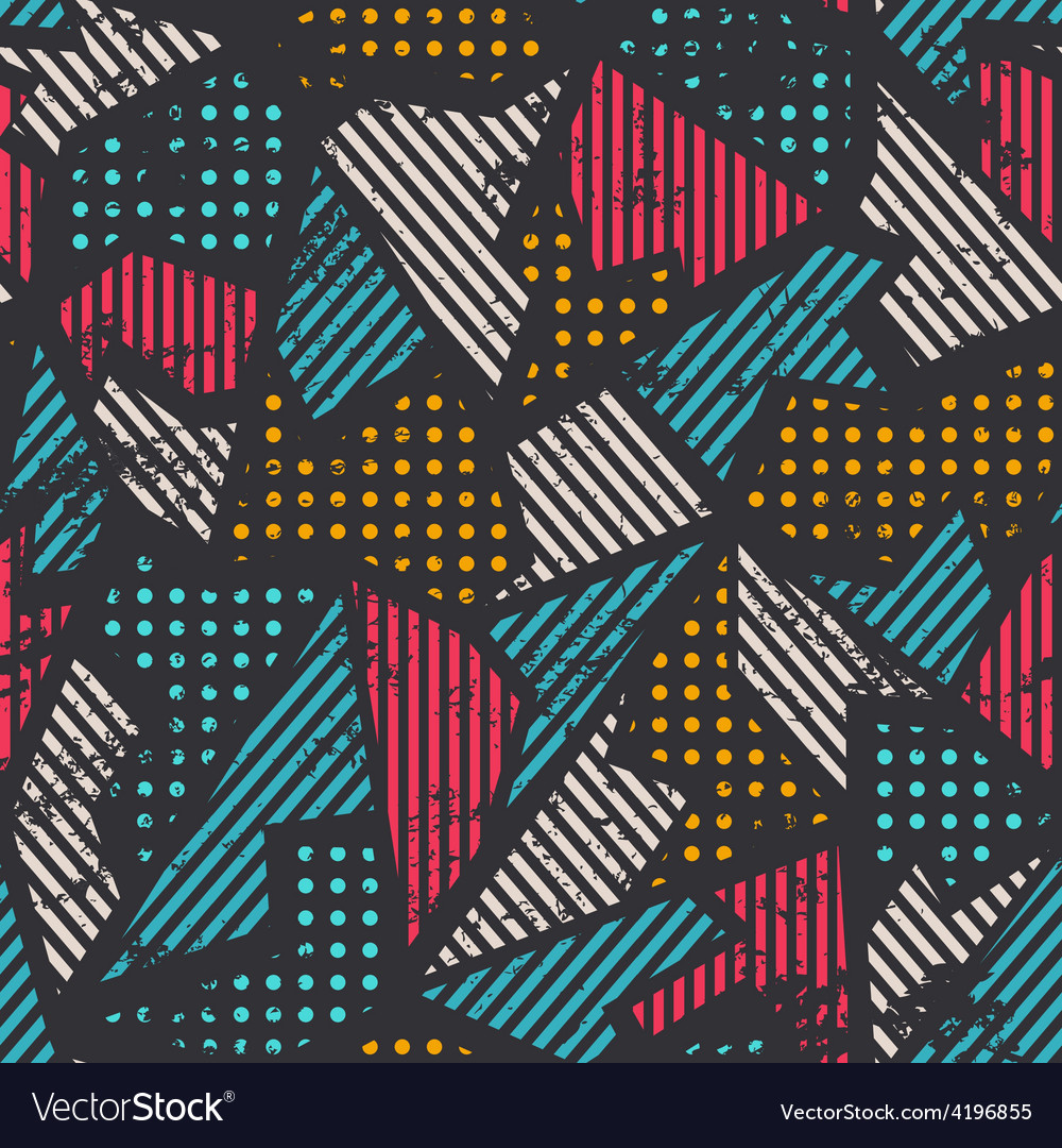 Urban seamless pattern vector | Price: 1 Credit (USD $1)