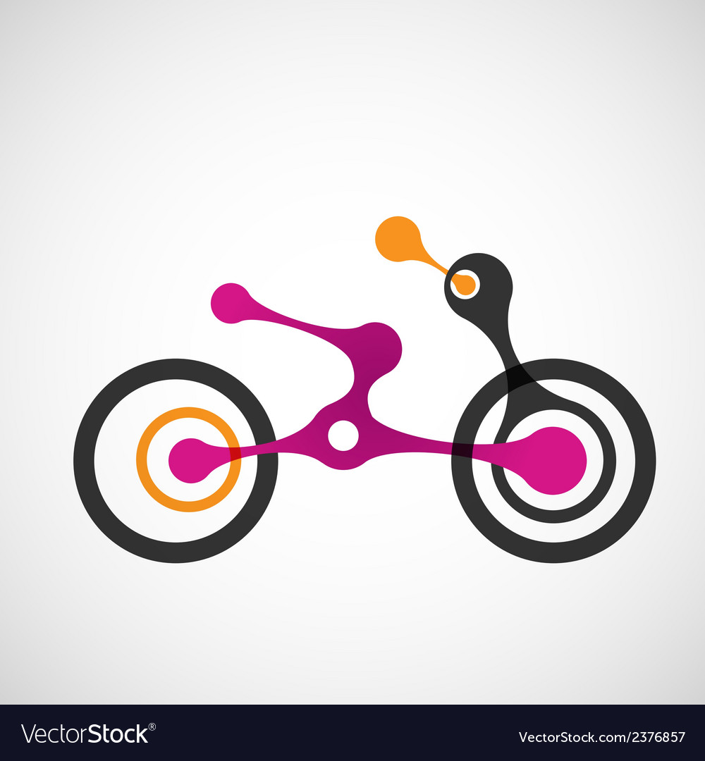 Abstract moto transport eps vector | Price: 1 Credit (USD $1)