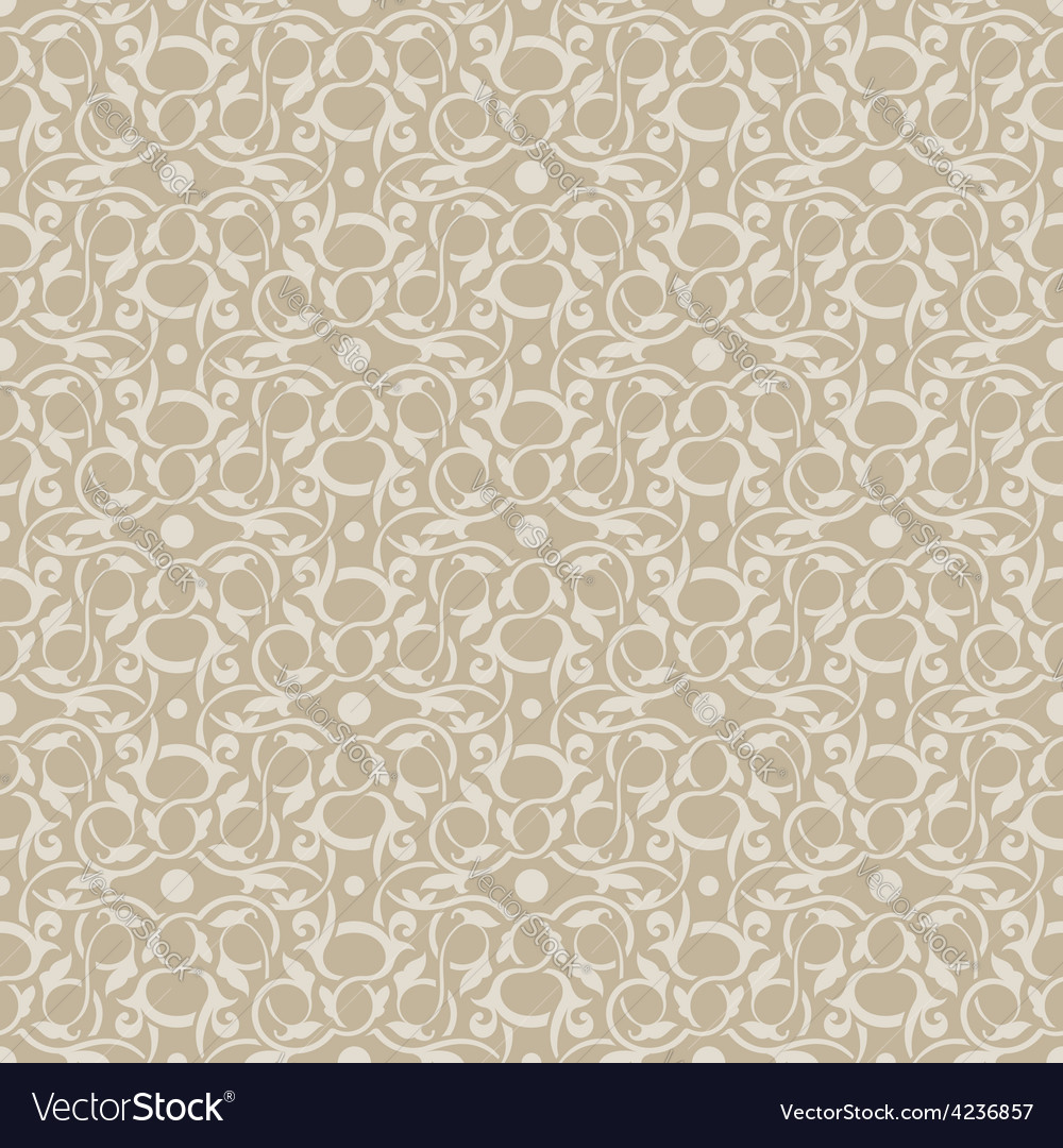 Brown seamless pattern vector | Price: 1 Credit (USD $1)