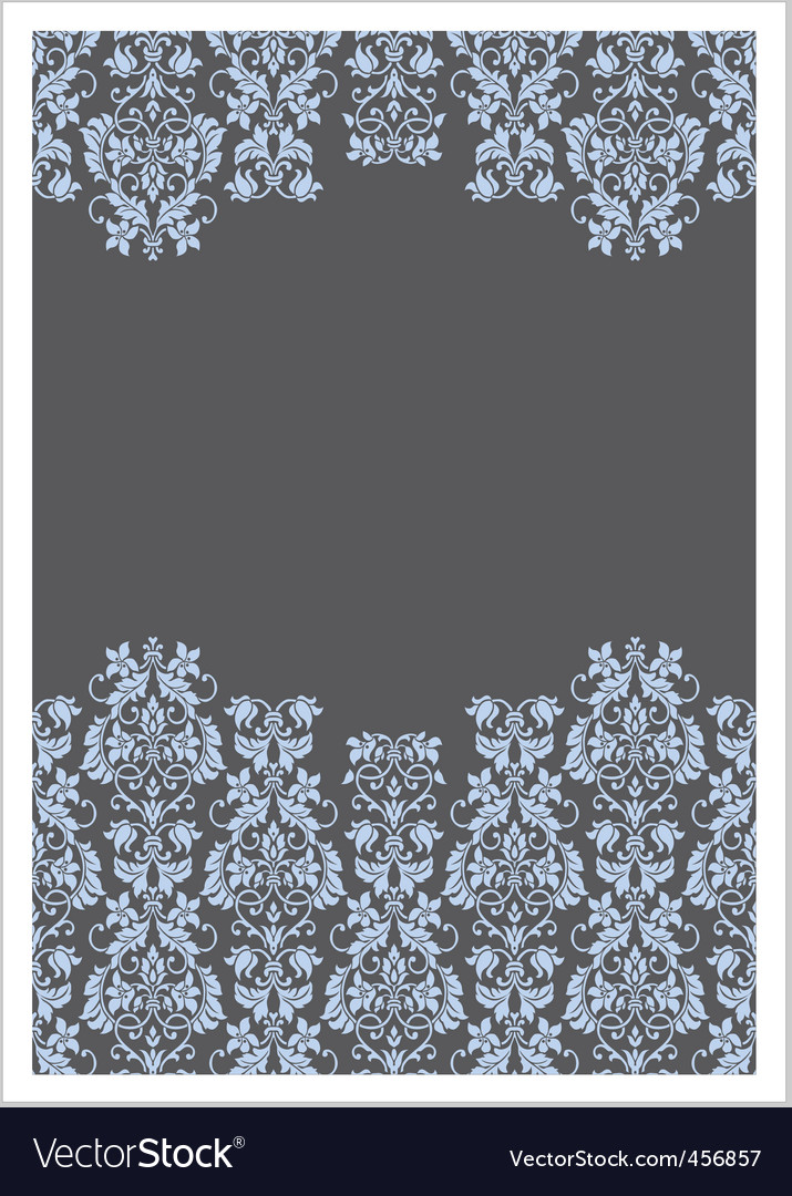 double victorian border frame vector | Price: 1 Credit (USD $1)