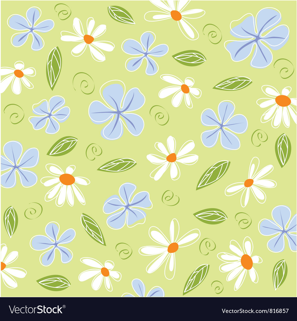 Floral card and fabric texture vector | Price: 1 Credit (USD $1)