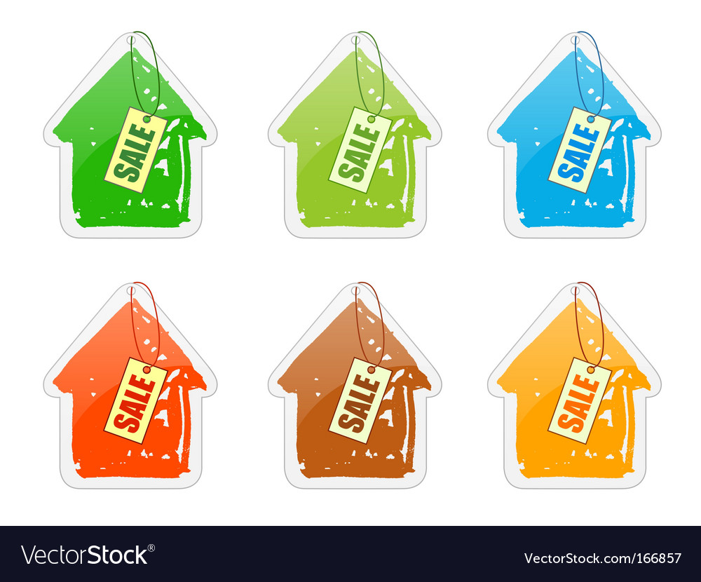 House with pricelist vector | Price: 1 Credit (USD $1)
