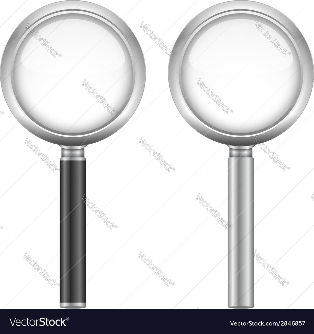 Magnifying glasses vector | Price: 1 Credit (USD $1)