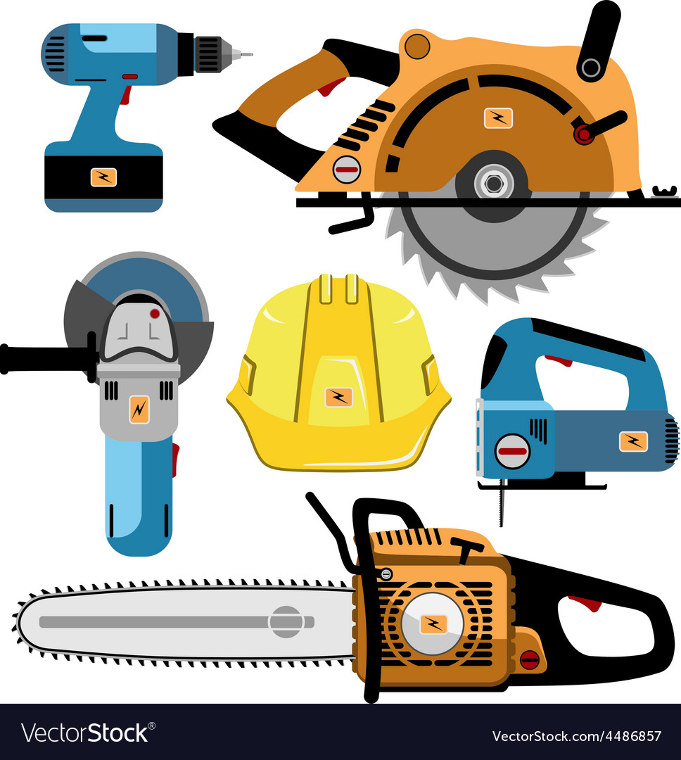 Set of tools final vector | Price: 3 Credit (USD $3)
