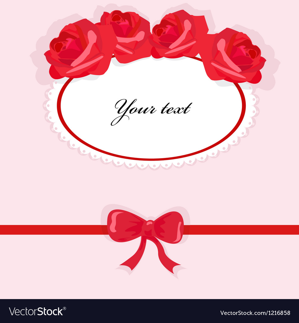 Background with roses 2 vector | Price: 1 Credit (USD $1)