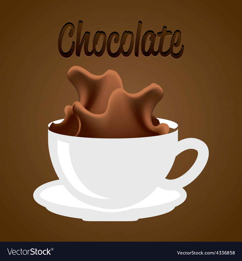 Delicious chocolate vector   Price: 1 Credit (USD $1)