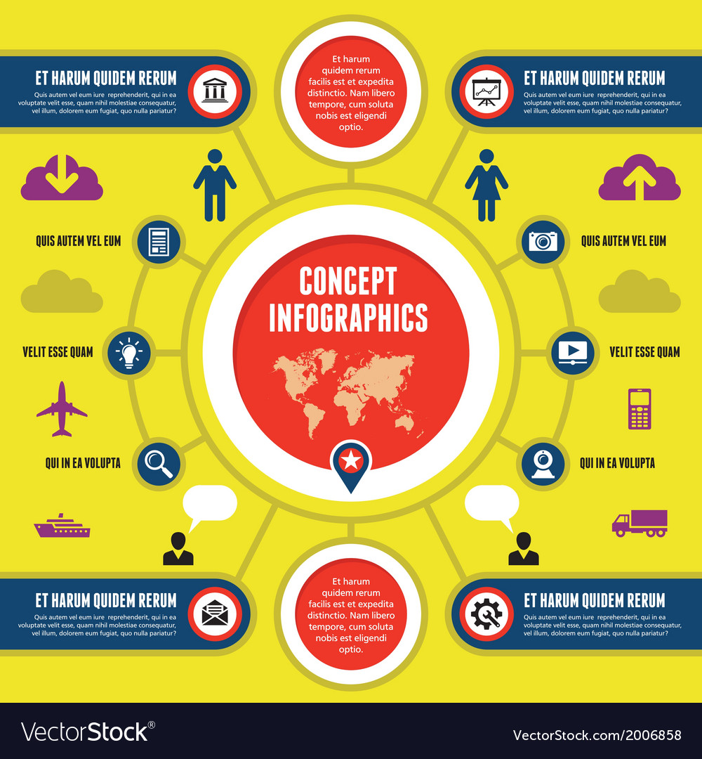 Infographic concept vector   Price: 1 Credit (USD $1)