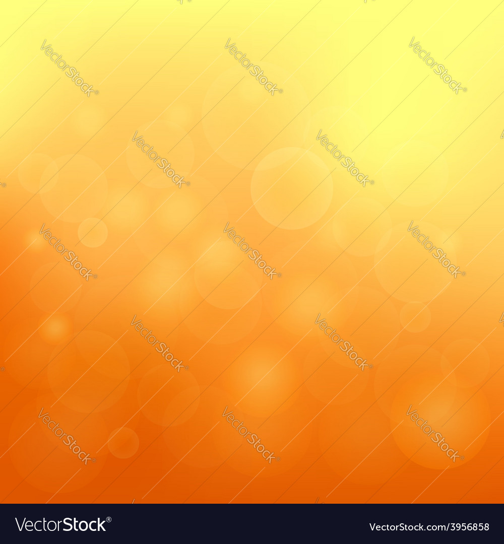Orange blurred background vector | Price: 1 Credit (USD $1)