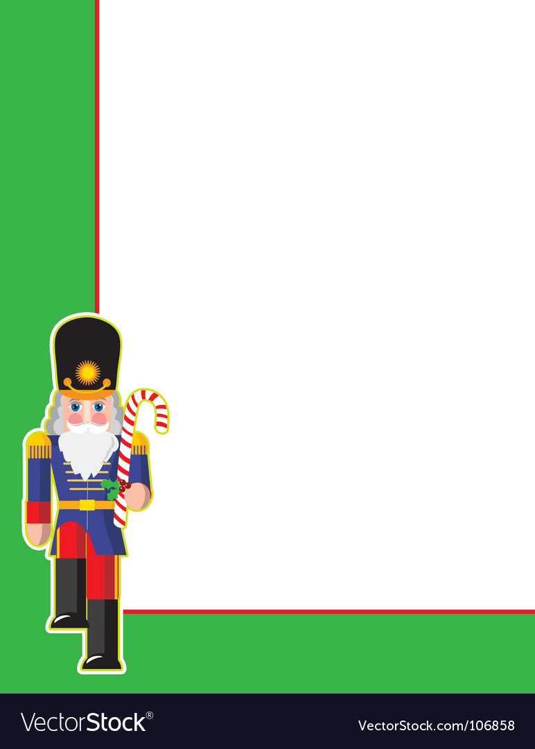 Toy soldier corner vector | Price: 1 Credit (USD $1)