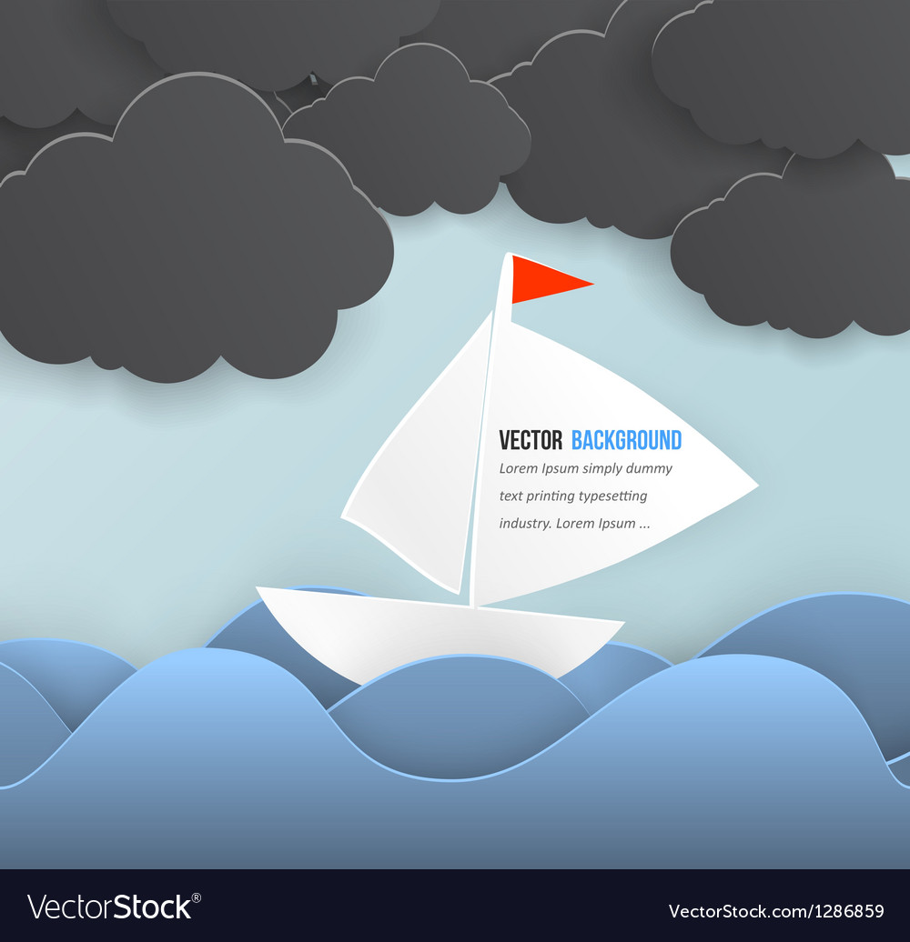 Mobile icon and boat vector | Price: 1 Credit (USD $1)