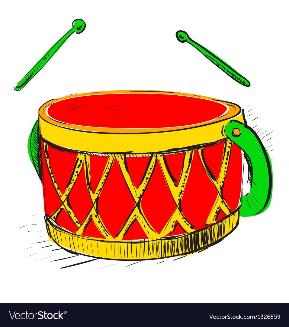 Music drum vector | Price: 1 Credit (USD $1)