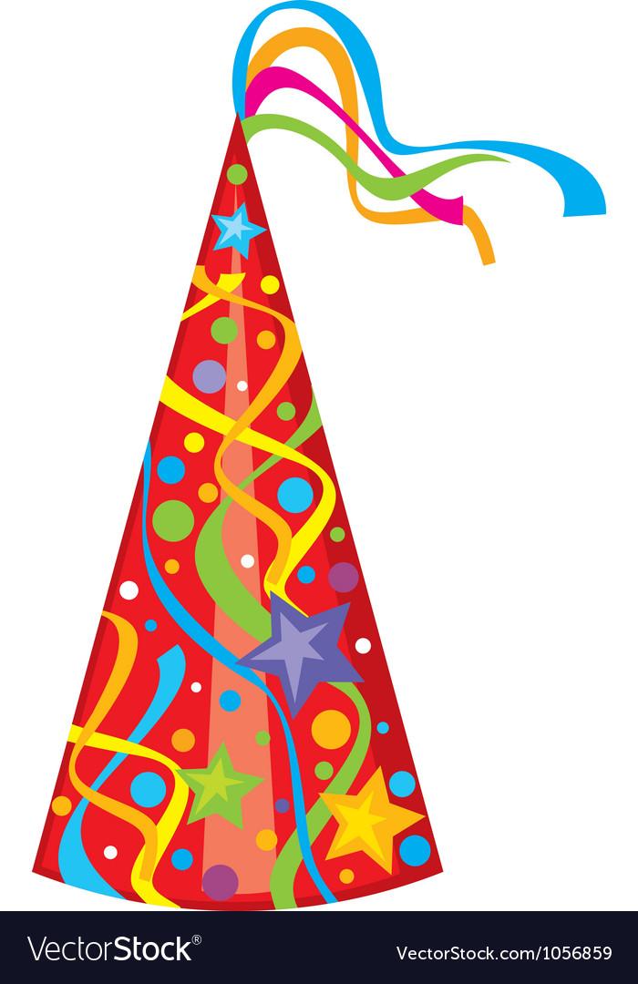 Party hat - birthday hat vector | Price: 1 Credit (USD $1)