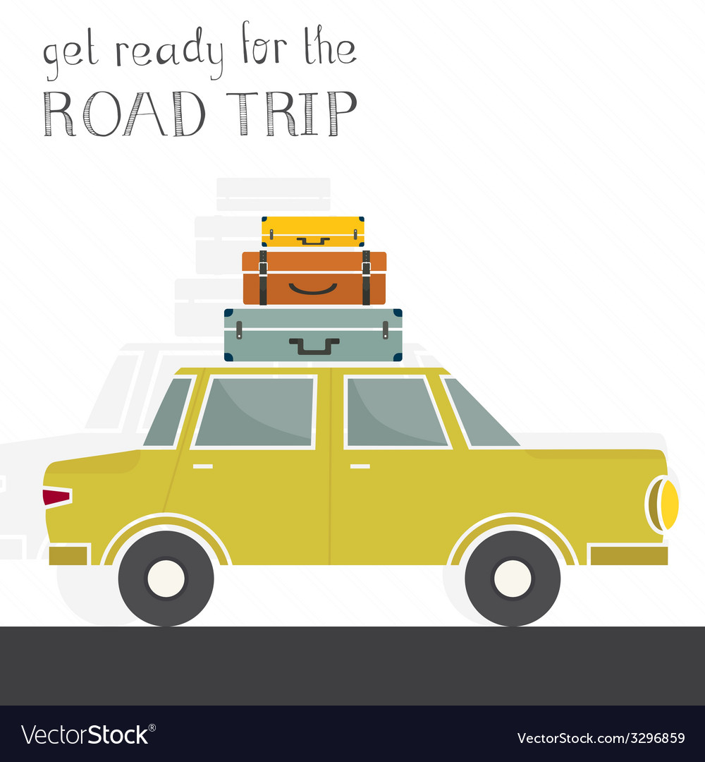 Road trip concept vector | Price: 1 Credit (USD $1)