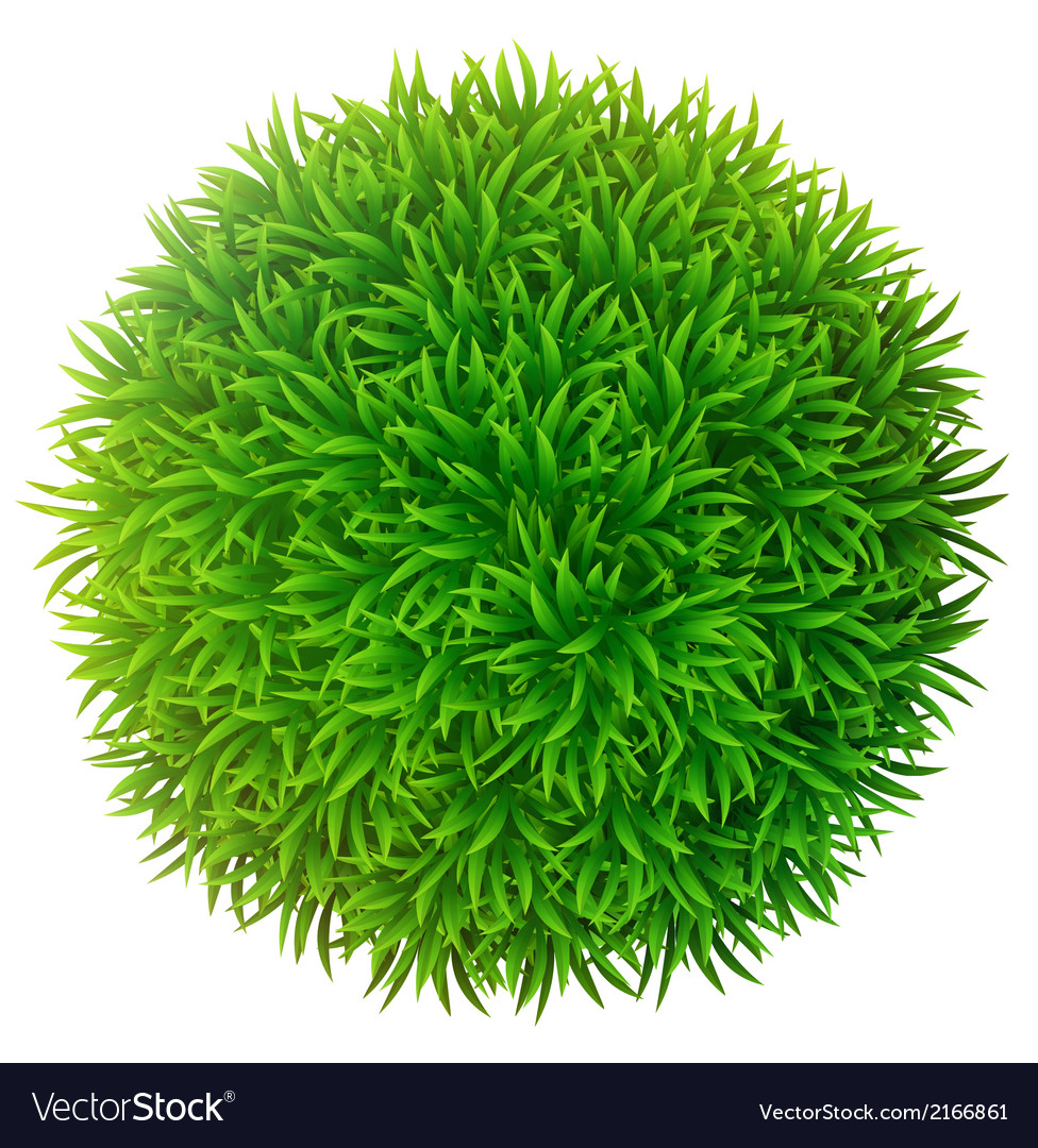 Grassy sphere vector | Price: 1 Credit (USD $1)