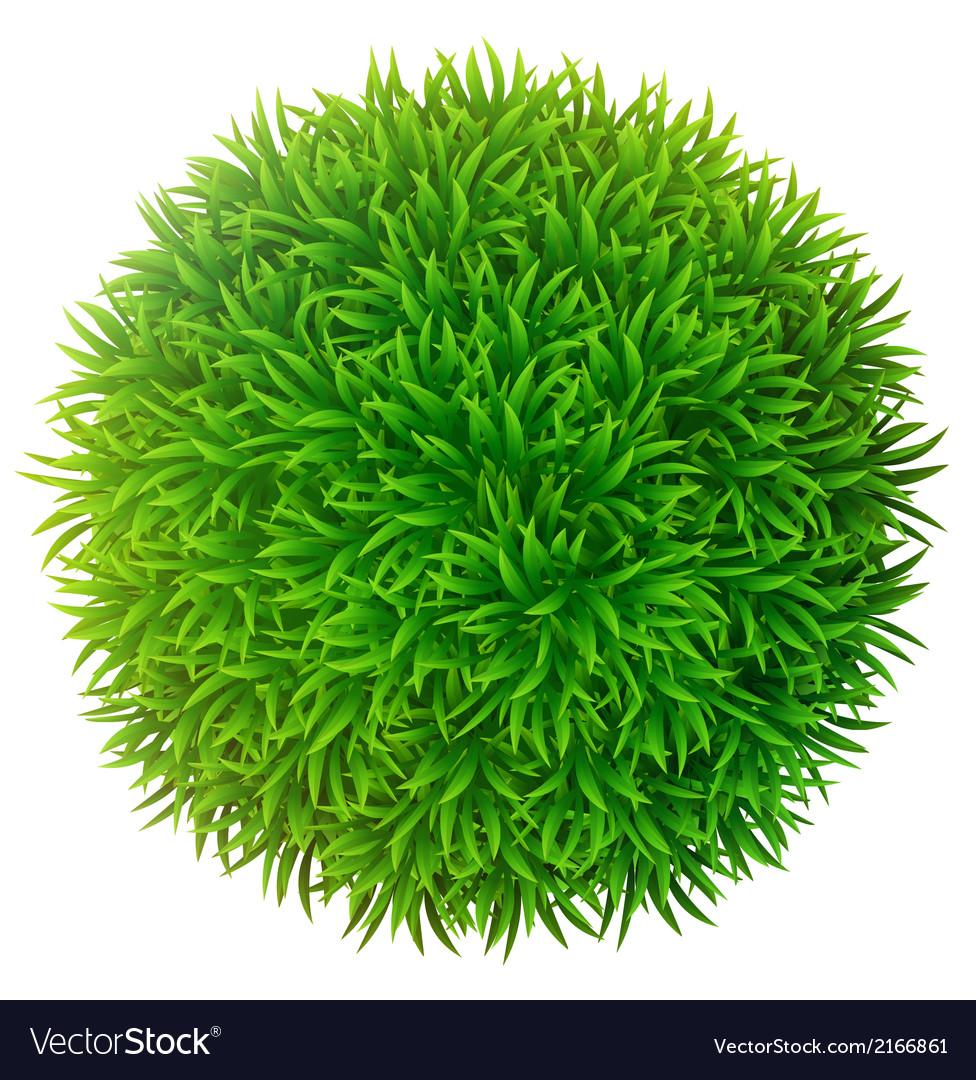 Grassy sphere vector   Price: 1 Credit (USD $1)
