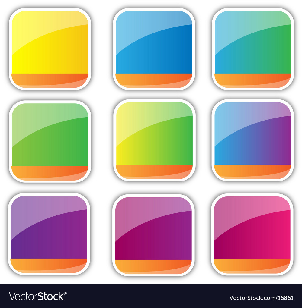 Icon backgrounds vector | Price: 1 Credit (USD $1)