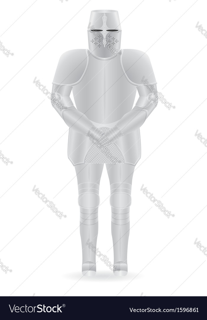 Knight armor 01 vector | Price: 1 Credit (USD $1)