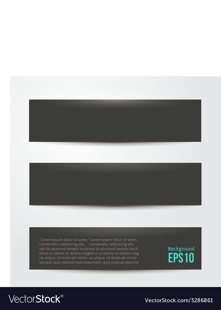 Pure black background for your design vector | Price: 1 Credit (USD $1)