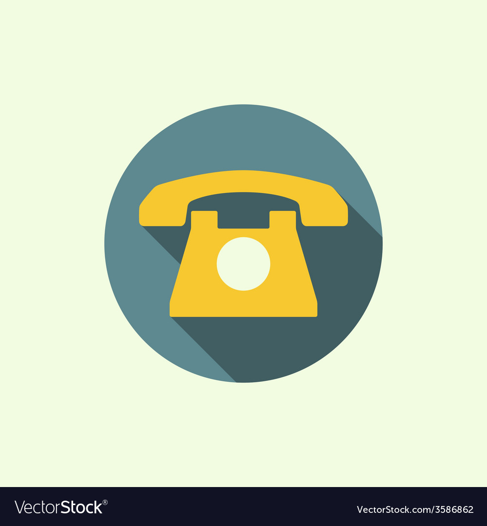 Abstract background with an old rotary telephone vector | Price: 1 Credit (USD $1)