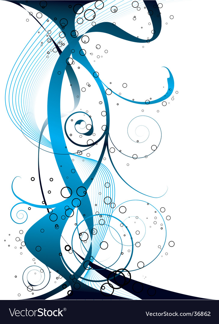 Extra flow blue vector | Price: 1 Credit (USD $1)