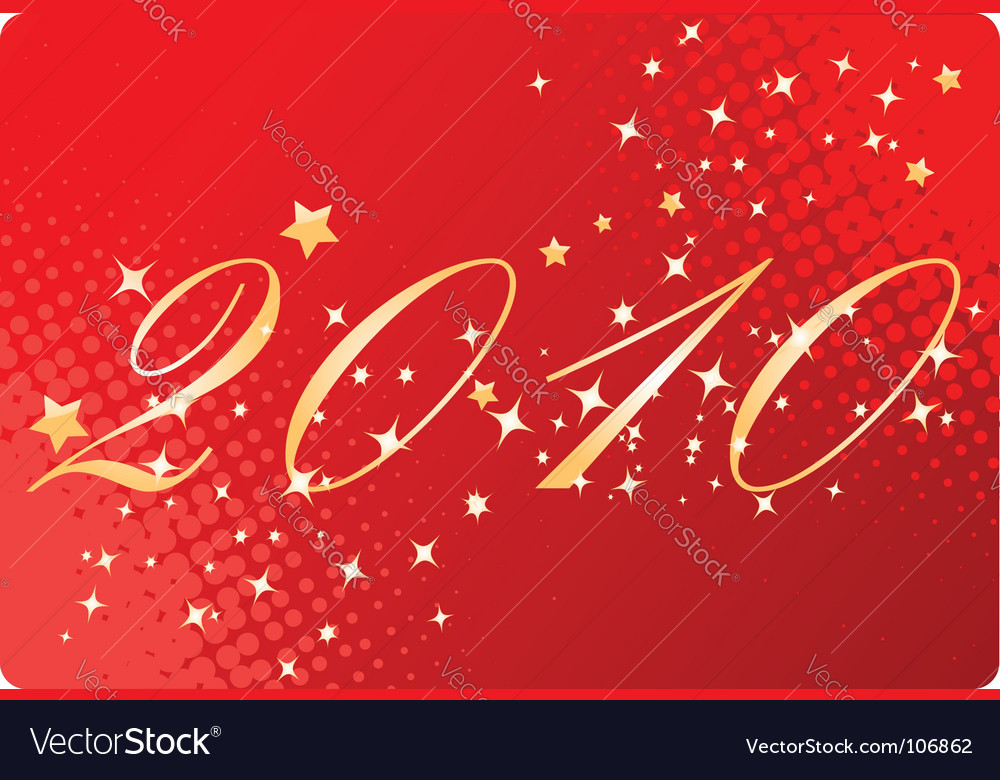 Red halftone new year background vector   Price: 1 Credit (USD $1)