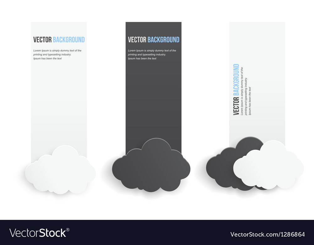 Abstract background infographics banner vector | Price: 1 Credit (USD $1)