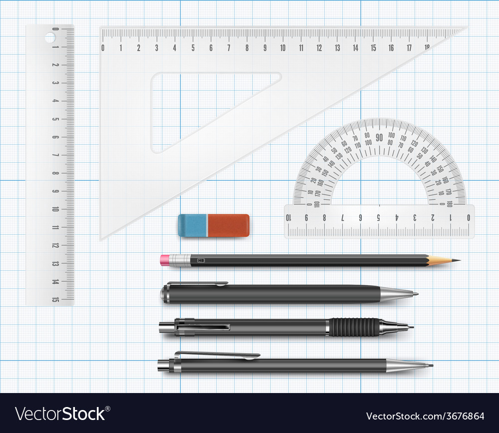 Education supply vector | Price: 1 Credit (USD $1)