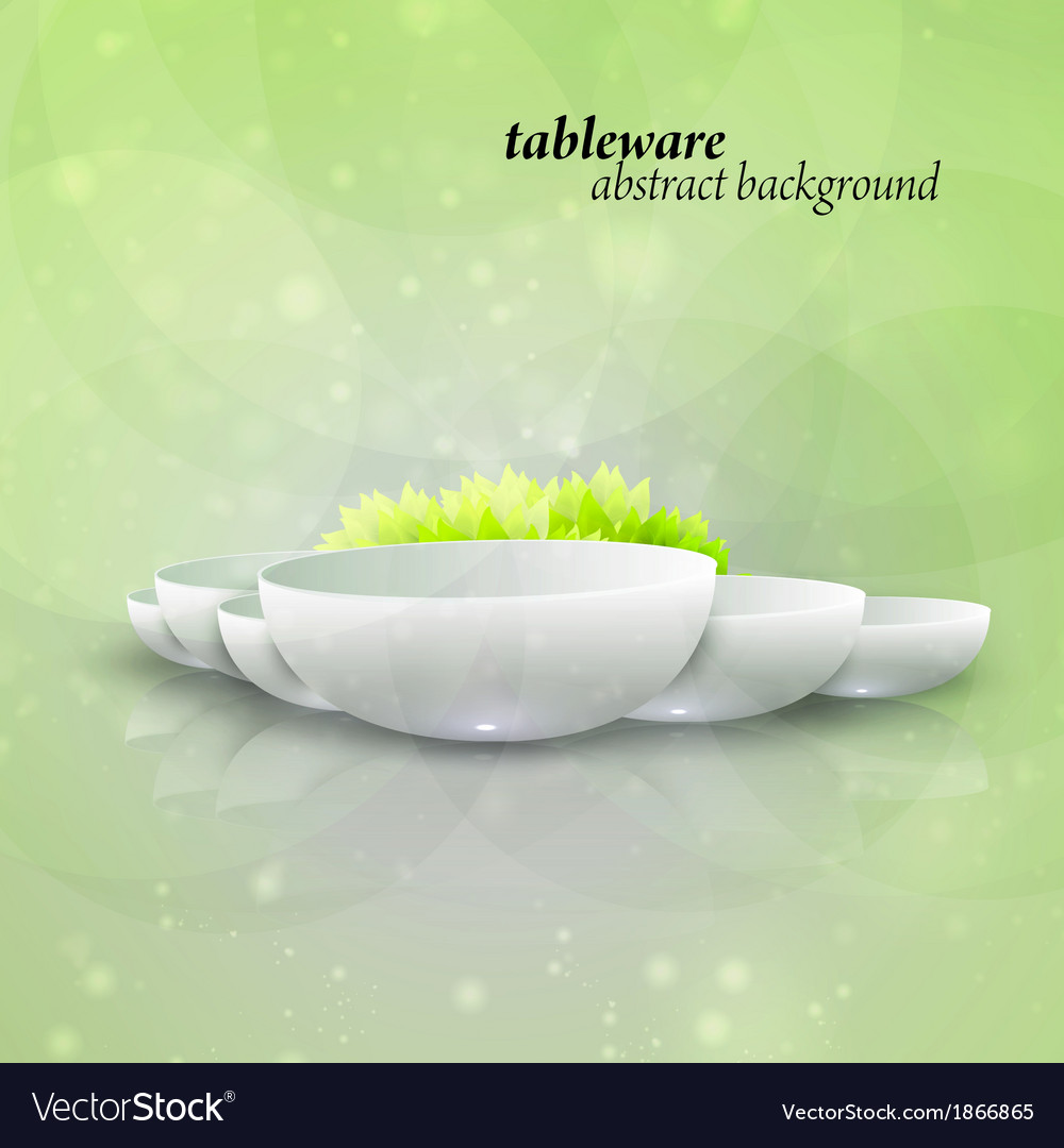 Abstract tableware vector   Price: 1 Credit (USD $1)