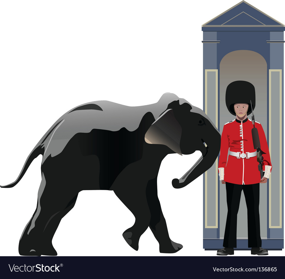 Buckingham guard vector | Price: 3 Credit (USD $3)