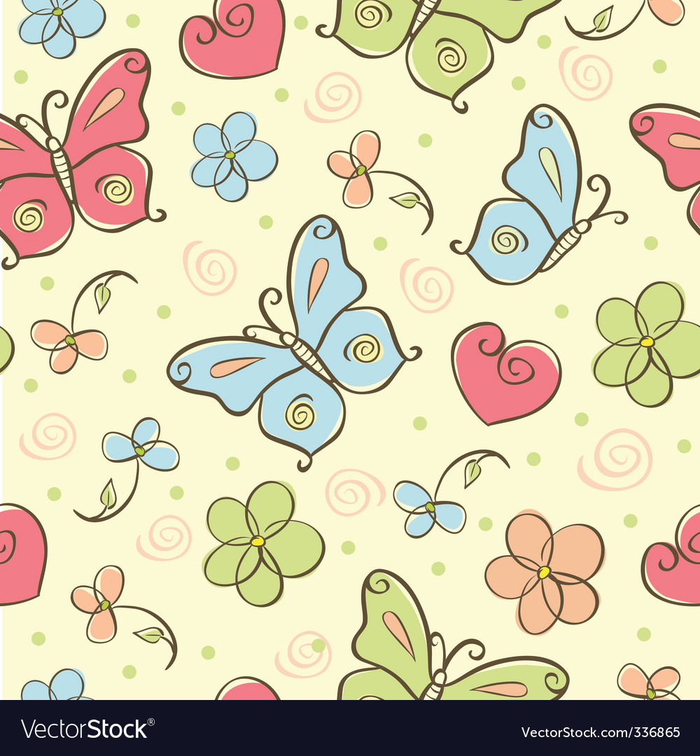 Cute background vector | Price: 1 Credit (USD $1)