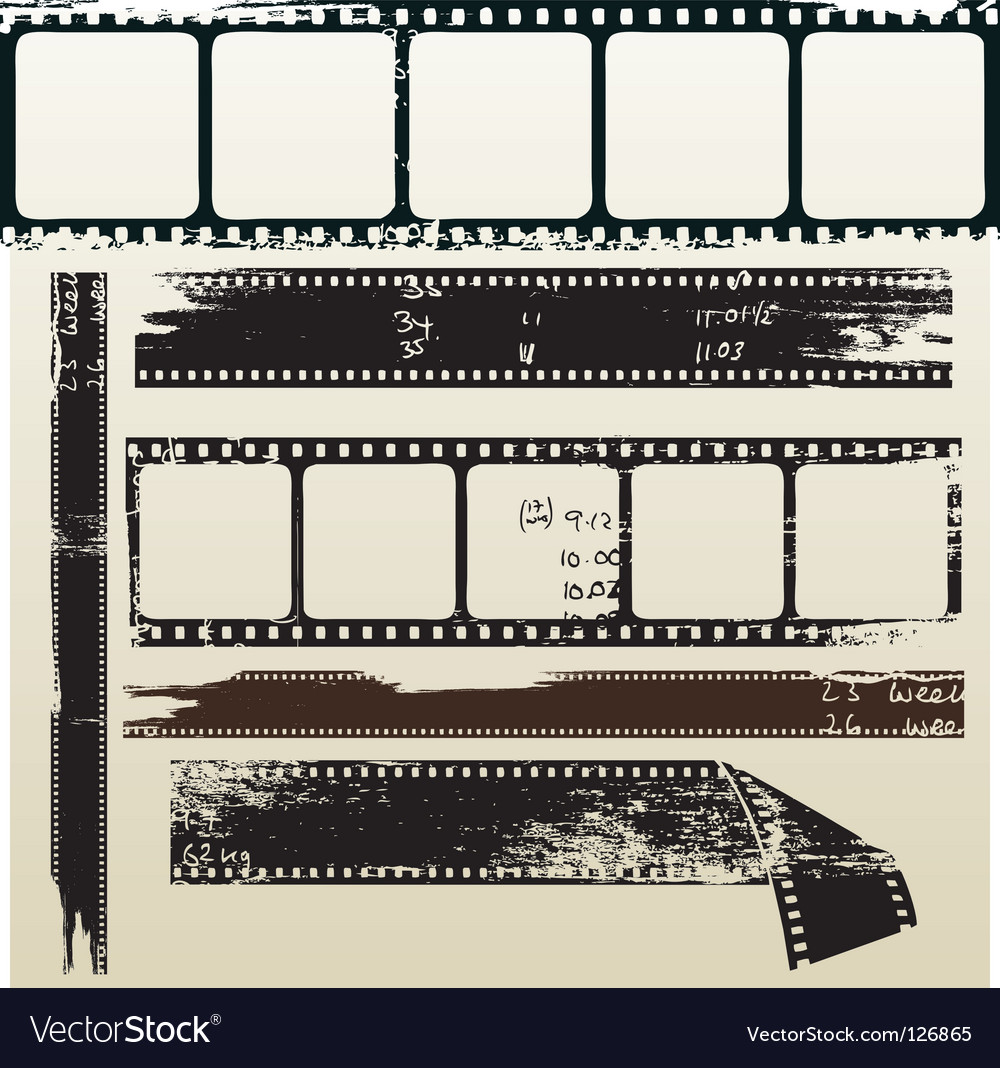 Film grunge vector | Price: 1 Credit (USD $1)