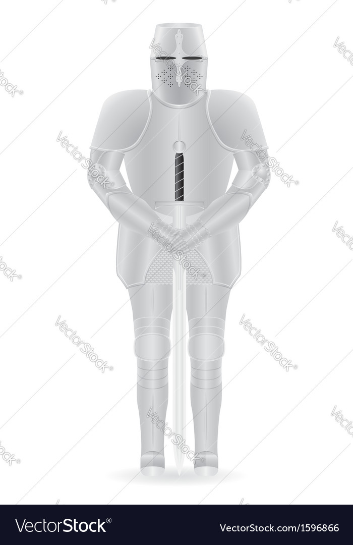 Knight armor 03 vector | Price: 1 Credit (USD $1)
