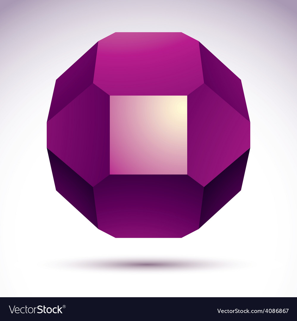 Abstract 3d geometric object clear eps 8 vector | Price: 1 Credit (USD $1)