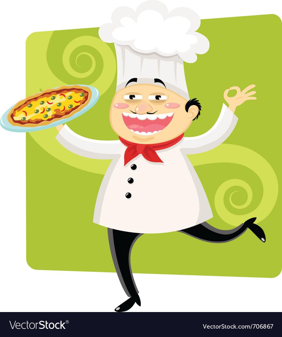 Cartoon chef vector | Price: 3 Credit (USD $3)