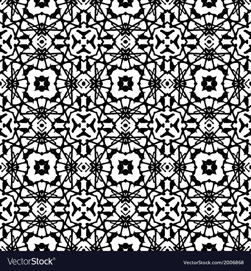 Art deco pattern in black and white vector | Price: 1 Credit (USD $1)